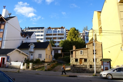 A Rustic Building With Apartments In The Background 3-26-2011.jpg
