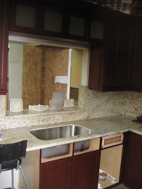 Installing The New Sink 10-4-2011.JPG
