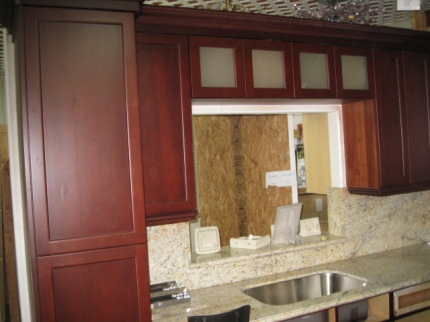 The Kitchen Sink And Window Start To Take Shape 10-4-2011.JPG